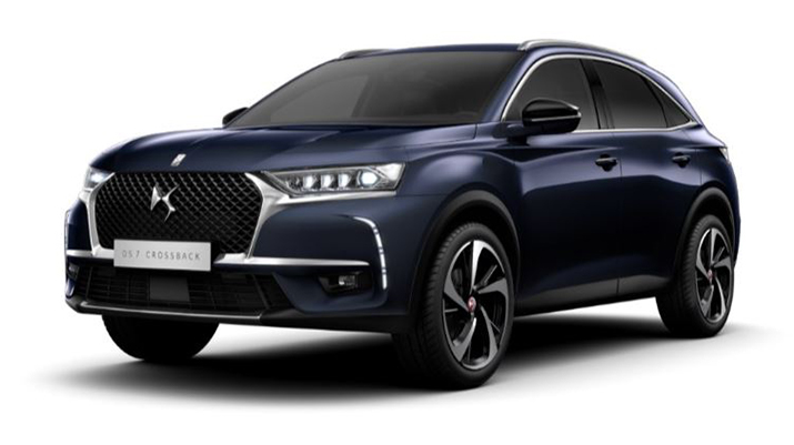 Photo annonce DS DS7 CROSSBACK 1.6 E-TENSE 4X4 EAT8 GRAND CHIC + TOIT PANO + INSPIRATION DS OPERA NOIR