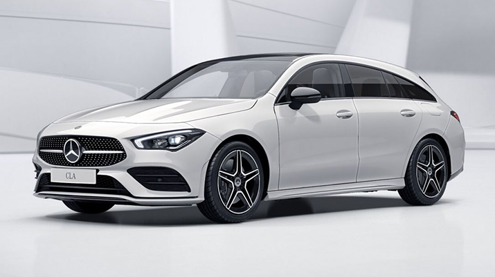 Photo annonce MERCEDES CLA SHOOTING BRAKE NOUVELLE 220 190CV 7G-DCT AMG LINE