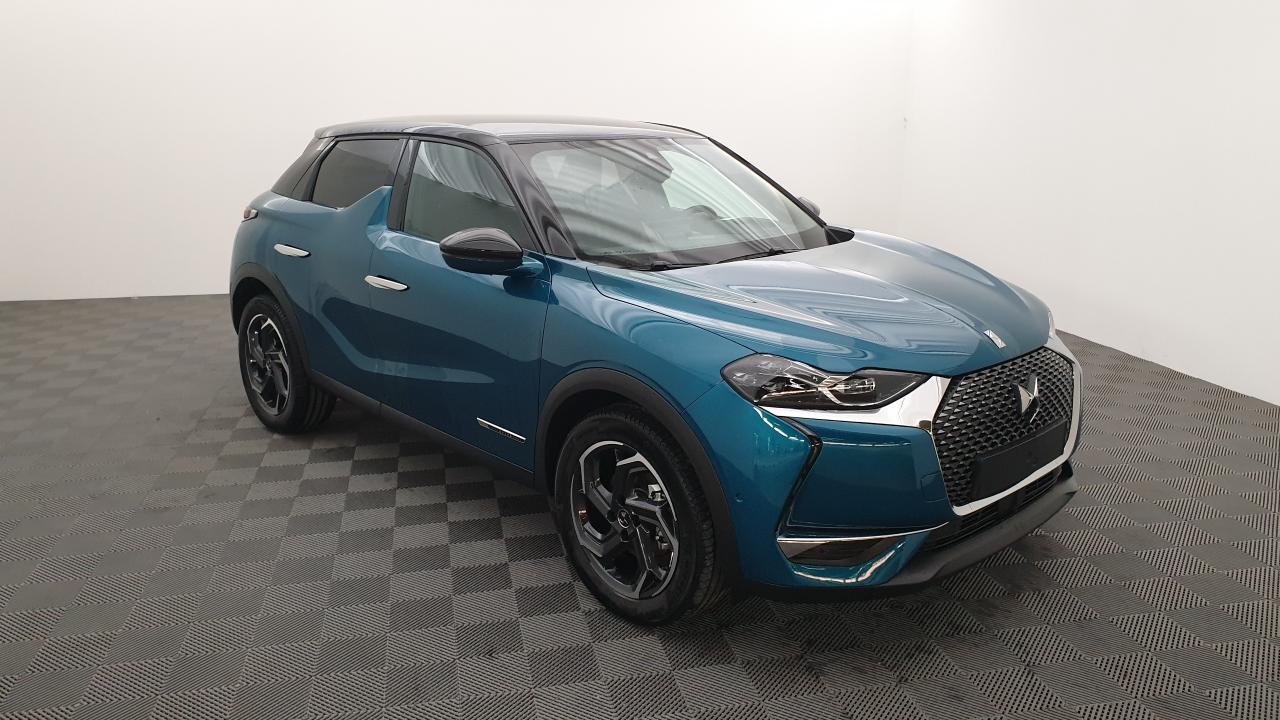 Photo annonce DS DS3 CROSSBACK 1.2 PURETECH 155CV EAT8 SO CHIC + PACK SÉCURITÉ ETENDUE + DS SENSORIAL DRIVE