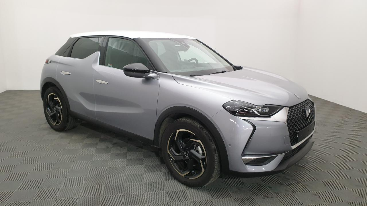 Photo annonce DS DS3 CROSSBACK 1.2 PURETECH 100CV BVM6 SO CHIC  SUREEQUIPEE