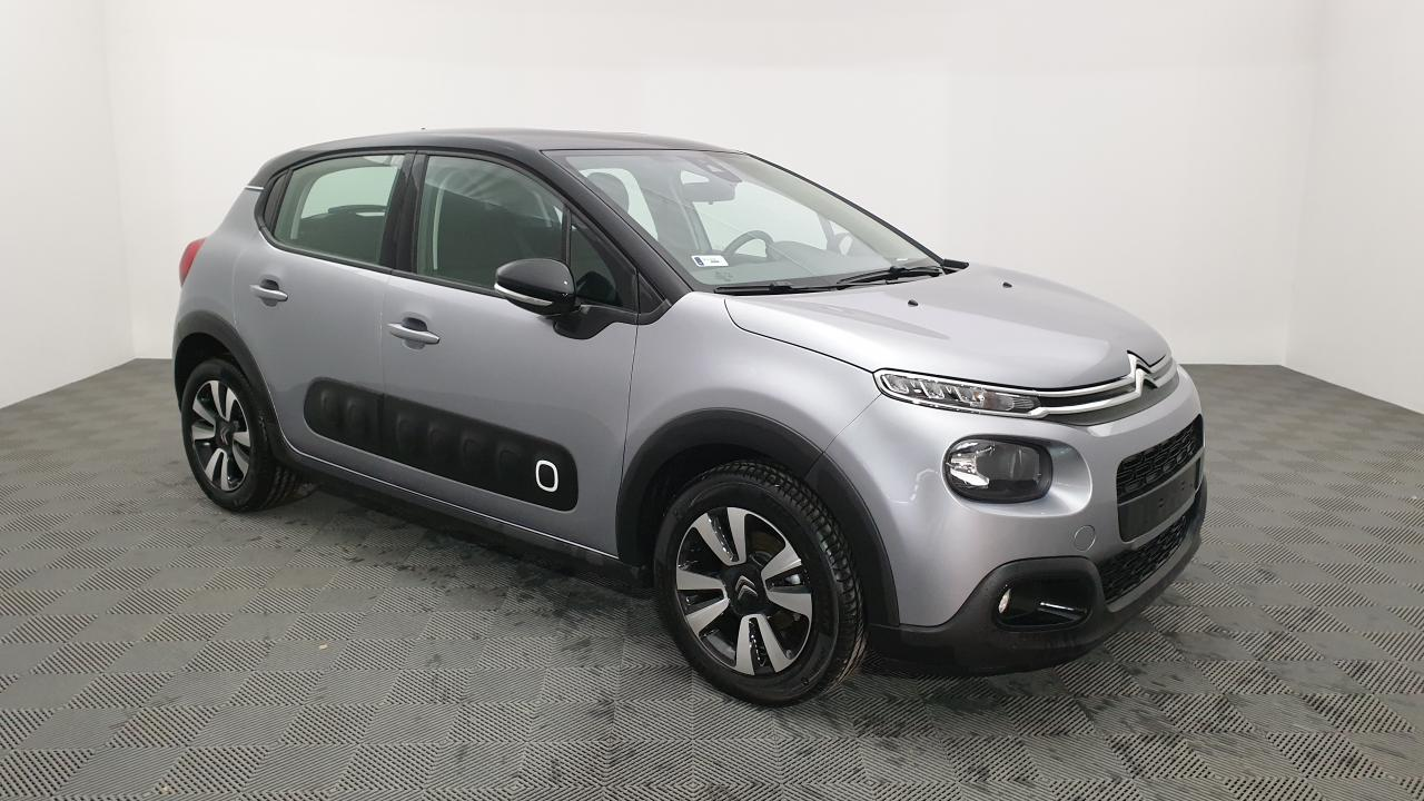 Photo annonce CITROEN C3 1.2 PURETECH 82CV BVM5 SHINE + JANTES ALLIAGE 16