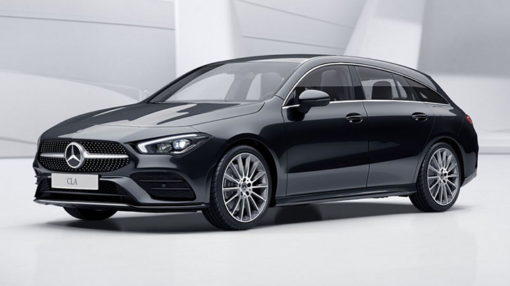 Photo annonce MERCEDES CLA SHOOTING BRAKE 220 190CV 7G-DCT AMG LINE + BURMESTER + TOIT PANO